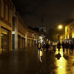 shadows (Cosimo Matteini) Tags: road street light shadow people london night pen dark square candid olympus spitalfields m43 sodiumvapour mft ep5 mzuiko cosimomatteini 17mmf18