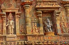 IF THESE WALLS COULD TALK...  (GOPAN G. NAIR [ GOPS Photography ]) Tags: india stone wall painting temple photography ancient carving tamilnadu chola cholan kumbakonam gops darasuram rajaraja gopan airavatheeswara airavateeswara gopsorg gopangnair gopsphotography