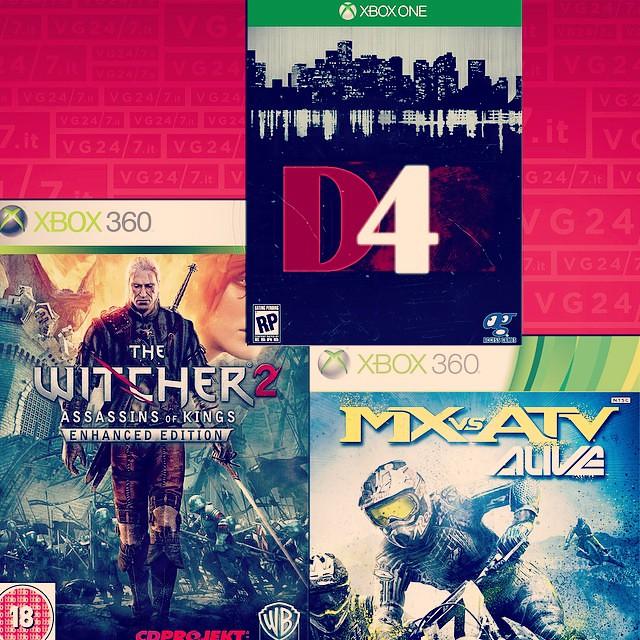 Ecco i giochi gratuiti di gennaio per gli utenti XBOX LIVE Gold! #thewitcher #d4 #darkdreamdontdie #cdprojektred #mxvsatv #xboxone #microsoft #livegold #gennaio