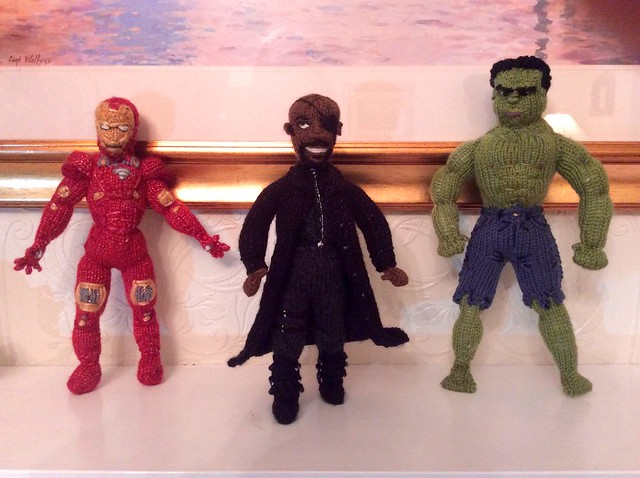 Ironman, Nick Fury Increditable Hulk Tribute Marvel Avengers