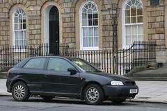 abandoned car tdi parking police ticket 1999 a3 stolen audi 19 k2ckk
