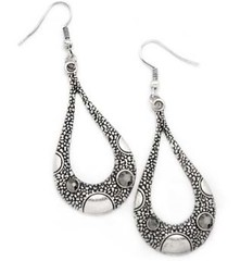 5th Avenue Silver Earrings P5210-4