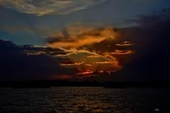 DSC_0012 (2) (RUMTIME) Tags: sunset sky water clouds queensland coochie coochiemudlo