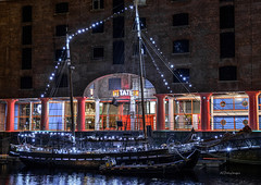 Glacier of Liverpool (alundisleyimages@gmail.com) Tags: tourism water architecture liverpool docks buildings reflections nightlights shops shipping albertdock attraction sailingship tategallery merseyside