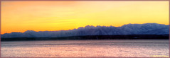 Olympic Mountain Sunset Panorama (ScottElliottSmithson) Tags: sunset panorama mountains silhouette canon spectacular eos washington olympicpeninsula 7d whidbeyisland pugetsound olympic washingtonstate olympicmountains admiraltyinlet mutinybay eos7d dtwpuck scottsmithson scottelliottsmithson dtwpucck