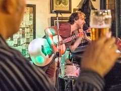 waltzing Mathilda (camerue) Tags: street england music irish beer liverpool lens prime pub fuji guitar folk band singer fujifilm x20 x30 songwriter x10 xseries xtrans liverpool2014