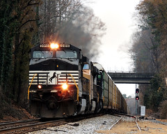 Norfolk Southern 212 (Just Another Train Nut 2) Tags: railroad train trains railroads norfolksouthern