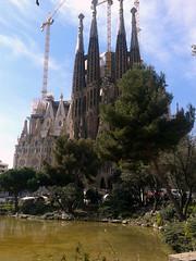 Barcelona 2014 - phentasy (phentasy) Tags: barcelona travel church monument nature familia march spring spain gothic sagradafamilia sagrada gaudì catalogna 2014