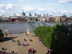 View from Tate Modern.