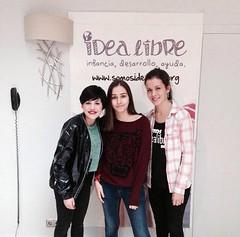 """Angy colabora con el mercadillo benéfico """"Somos Idea Libre"""" en Madrid"""