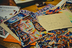 Sean Karemaker (musikkpike) Tags: street boy sculpture music art illustration vancouver cafe main creative drawings sean talent local kafkas karemaker vandocument