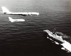 Ben Cloud Collection Photo (San Diego Air & Space Museum Archives) Tags: bear airplane aircraft aviation bomber carrier militaryaviation tupolev vietnamwar rf8 tu95 tupolevtu95 tu95bear bearbomber tupolevtu95bear bencloud tupolevbear