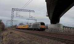 67015 (DRS 57311) Tags: mk2 1q05 dcf networkrail 72631 class67 67015 67027 testtrain 9701 hitchinflyover