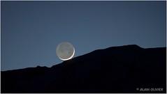 Lumière cendrée posée sur le Mont Charvin