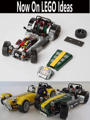 Caterham Super Seven (bricktrix) Tags: toys lego lotus caterham caterham7 legoideas caterhamseven legocaterham