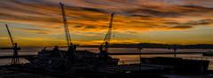 lithium sunset (photograffiando) Tags: color water clouds landscape nikon stitch genova theunforgettablepictures wonderfulword d7000 cloudsstormssunsetssunrises nikonclubit