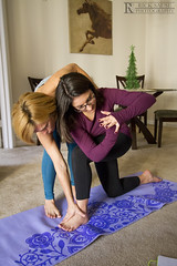 Yoga (Rick Sause Photography) Tags: girls people woman home girl yoga project relax photography photo women energy day apartment good relaxing calming rick calm mat photograph 365 lesson teach learn instructor instruct sause ricksausephotography