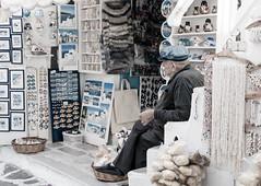 I've Seen Trinkets Over Time [Explored] (Darren Berg) Tags: blue explore greece mykonos explored