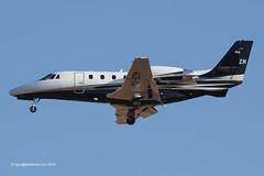 YU-BZM - 2009 build Cessna 560 Excel Citation XLS+, on approach to Runway 24L at Palma (egcc) Tags: biz mallorca palma cessna majorca excel citation 560 bizjet pnk pmi lepa 560xls airpink yubzm 5606037