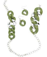 Glimpse of Malibu Green Necklace K1A P2810A-1