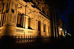 Old Bendigo Post Office (PhotosbyDi) Tags: nightphotography bendigo historicbuilding hff nikond600 happyfencefriday nikonf282470mmlens bendigod600