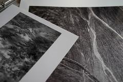 B&W Print Comparison (ispoke) Tags: bw silvergelatinprint phototech fromextrueblackandwhite metallicinkjetprint