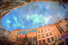 Lille, France (Stewart Leiwakabessy) Tags: street people france building canon buildings square weekend pierre cobblestones saturation lime roads lille nordpasdecalais hdr highdynamicrange nord multiexposure rijsel citytrip photomatix bracketed tonemapped 59000 59350 59800 5dmkii lille2014 stewartleiwakabessy