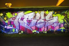 (Runtrains) Tags: california light lightpainting painting graffiti long exposure tag valley sacramento graff northern handstyle