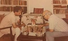 Left-Ahmed Bashir & Safdar Mir (Rashid Ashraf) Tags: ahmed bashir safdarmir