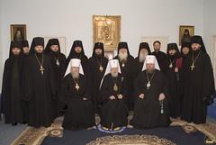 117. Участники архиерейской хиротонии 2005 г