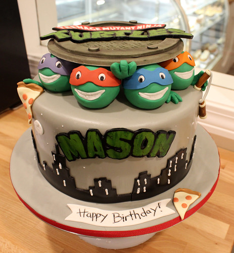 Teenage Mutant Ninja Turtles Birthday Custom