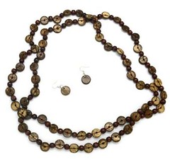 5th Avenue Brown Necklace P2330-1