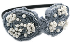 5th Avenue Silver Headbands K1 P6210A-5