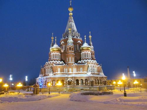 С Рождеством Христовым! (Ижевск, храм Михаила Архангела)