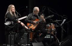 ROBERTO MENESCAL & WANDA S QUINTET (GD-GiovanniDaniotti) Tags: teatro milano concerto musica brasile batteria aperitivo chitarra cantante bossanova p