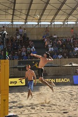 AVP Volleyball (ScottS101) Tags: shirtless male men beach muscles sport pier volleyball athletes fit avp huntingtonbeach allrightsreserved 2016scottsansenbach
