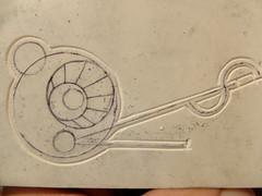 11 may 16 2 (9) (beihouphotography) Tags: art design artwork progress carving carve printmaking