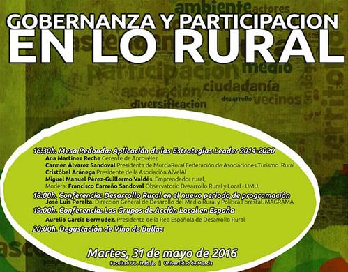 Encuentro Gobernanza y Participacion en lo Rural