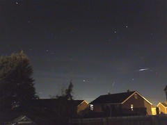 Iridium 83 flare (andystones64) Tags: uk sky motion night stars evening movement long exposure image space flight astro trail flare manmade pro sunlit orbit nightcap flares satellites iphone lighttrail iridium imagecapture imageof imagetrail iphoneography iphone6 iphoneastronomy