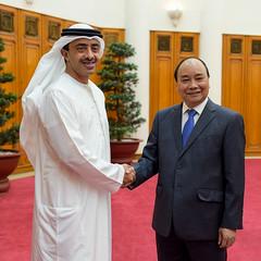 رئيس وزراء فيتنام يستقبل سمو الشيخ عبدالله بن زايد (H.H. Sheikh Abdullah bin Zayed Al Nahyan) Tags: vietnam زايد بن عبدالله abz