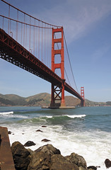 Golden Gate Bridge from Ft Point - 2016 (tonopah06) Tags: sanfrancisco california ca goldengatebridge sanfranciscobay ftpoint ggb 2016