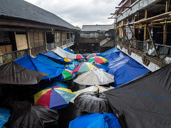 Umbrellas (aushiker) Tags: bali urbanexploration ubud