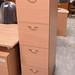 4 drawer wood filing cabinet