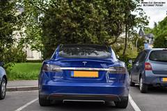 Tesla Model S P85D (Alexandre Prvot) Tags: auto cars car sport automobile european parking transport automotive voiture route exotic luxembourg lux supercar luxe berline exotics supercars ges dplacement worldcars grandestsupercars