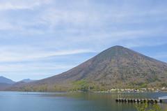 Lake Chuzenji, Japan (sblinn) Tags: park sky mountain lake water japan national nikko tochigi chuzenji