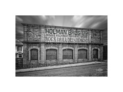 Living in the Past..... (silver/halide) Tags: blackandwhite bw building heritage monochrome architecture tin mono cornwall historic mining le oldbuilding tinmine holman kernow jethrotull camborne holmans johnbaker compair rockdrills xt1 mininghistory cousinjack holmanbrothers
