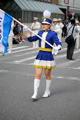46 / Kobe Matsuri, Festival 2016 (Ogiyoshisan) Tags: people girl festival japan japanese outdoor police event kobe   kobematsuri