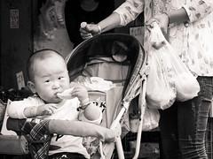 Petit gourmand ! (TchinChine !) Tags: shanghai pays chine xujingdistrict