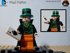 Mad Hatter (Random_Panda) Tags: comics book dc comic lego fig character books super hero figure superhero batman characters heroes minifig minifigs superheroes figures figs minifigure minifigures