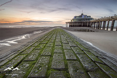 (Joaquim Pinho Photography) Tags: blankenberge belgium west pier beach joaquim pinho tide sunset sky nikon ray masters hanks